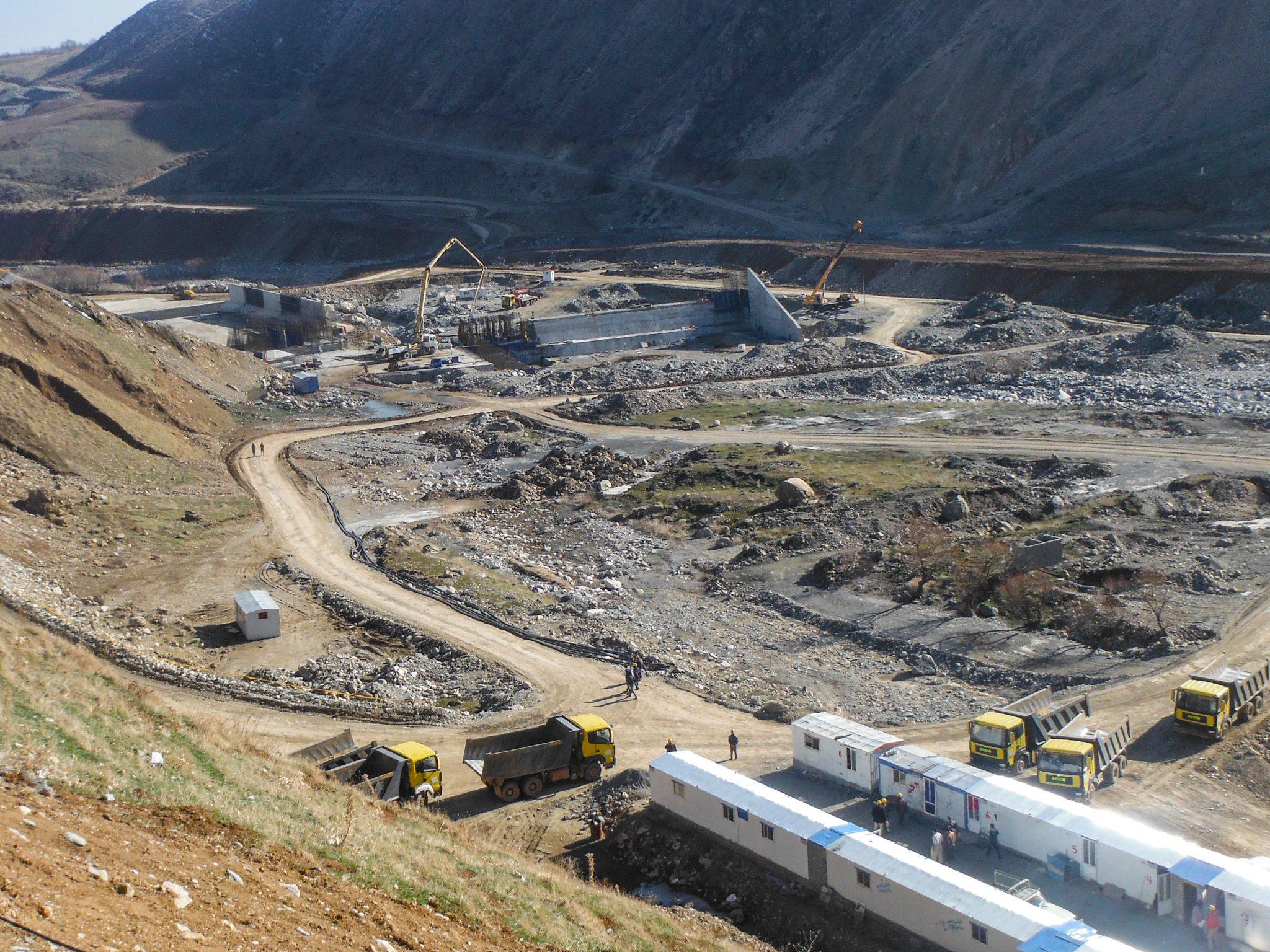 Quality Modelling of Kanisib Dam