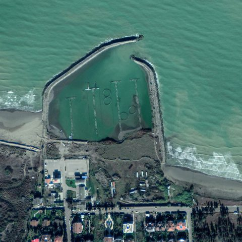 مطالعات مورد نیاز برای ترمیم موج شکن و بررسی و تایید نقشه های اجرایی اسکله دریابانی  دریاکنار