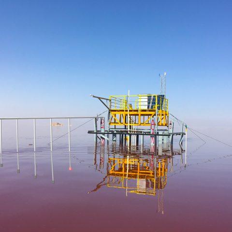 مطالعات نمونهبرداری کیفی و لیمنولوژی دریاچه ارومیه