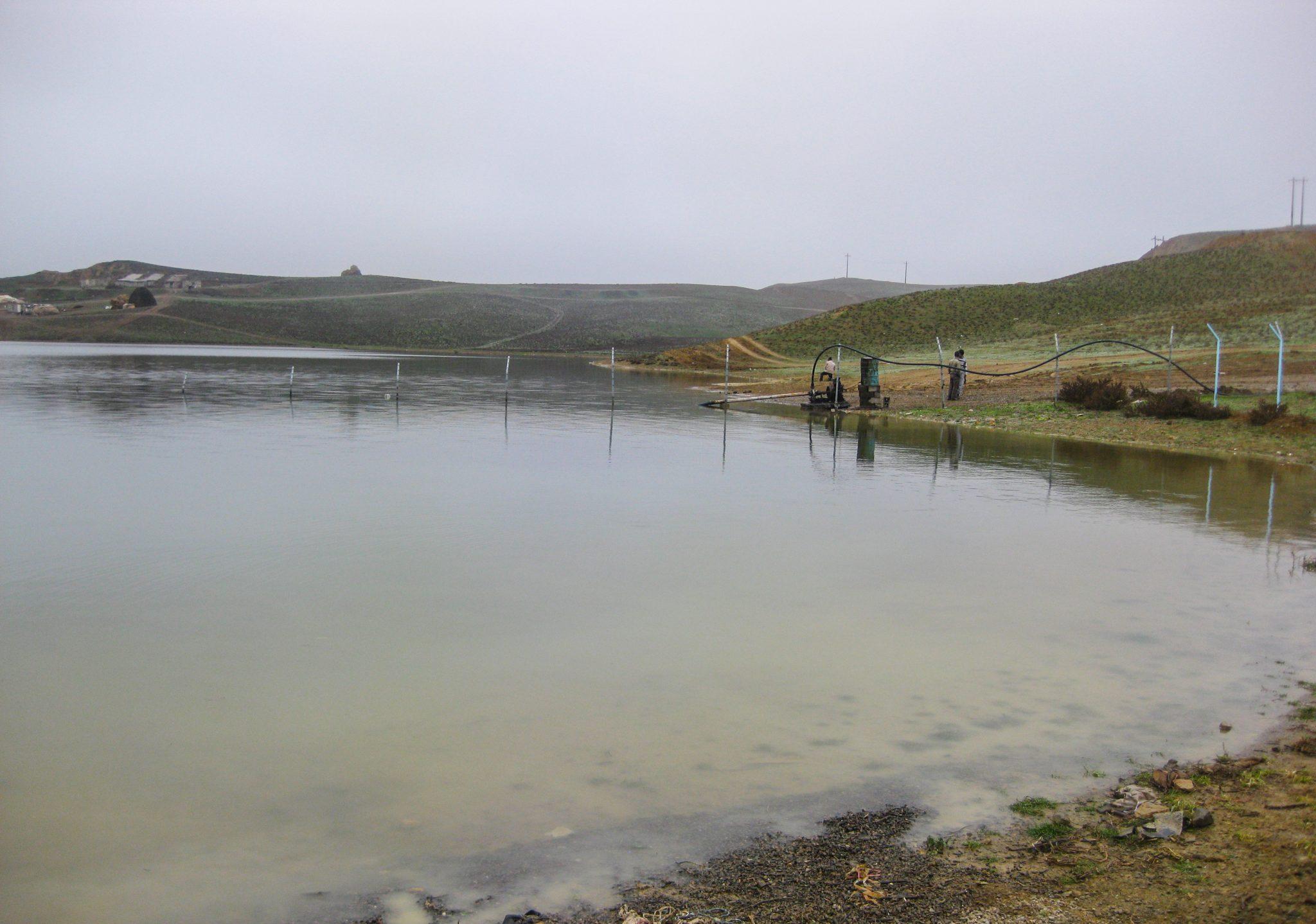 مطالعات امکان سنجی پرورش آبزیان در شبکه آبیاری و زهکشی سد ارسباران
