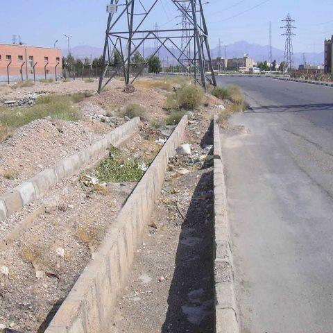 مطالعات جمع آوري و هدايت آبهاي سطحي شهرستان سمنان