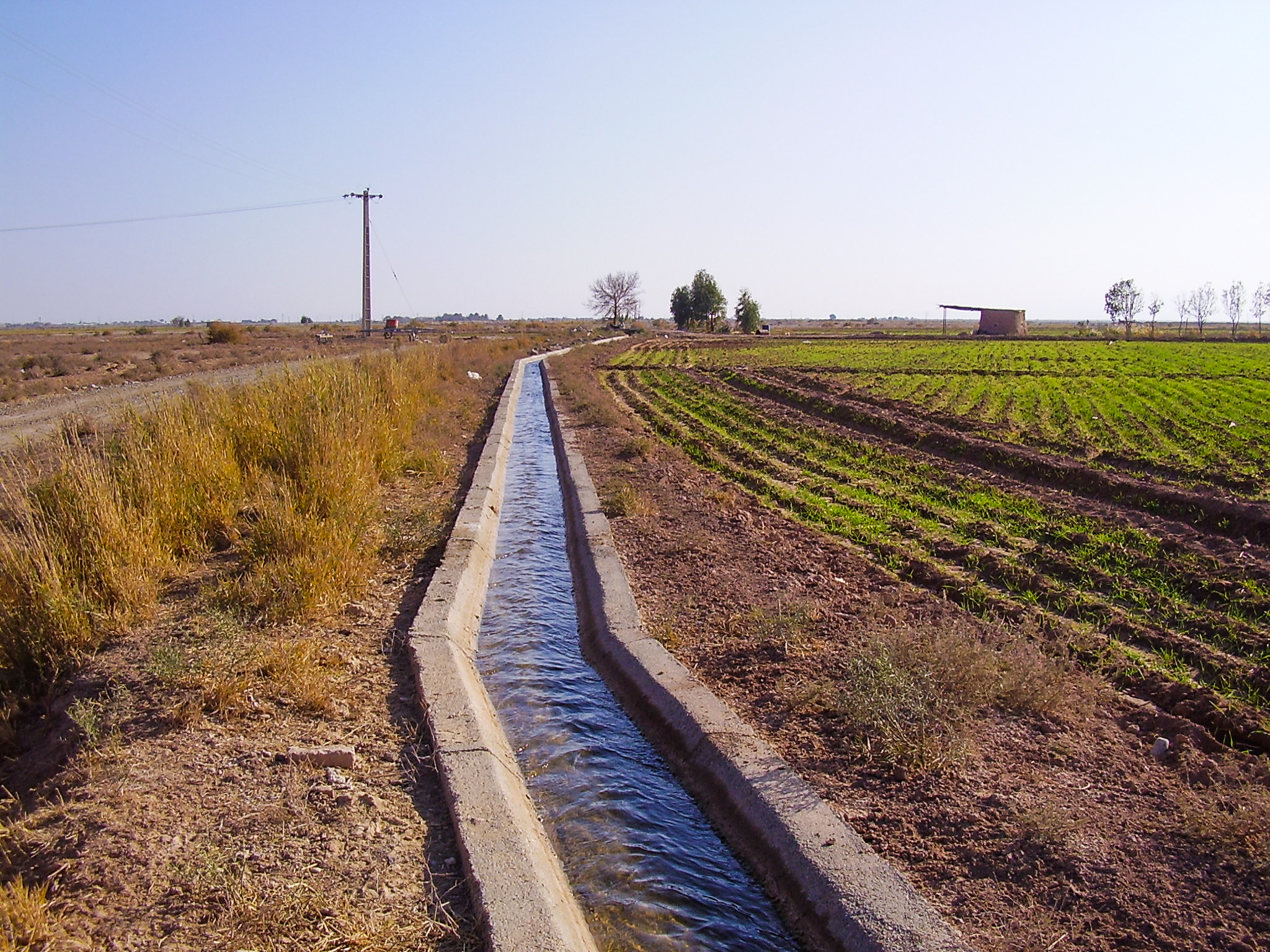 Review of basic and detailed design studies of drainage in southern part of Garmsar
